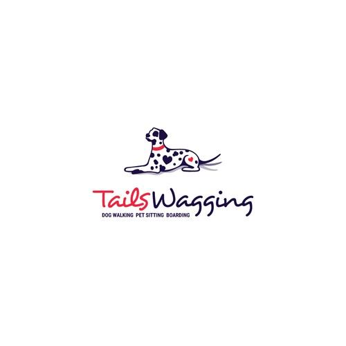 Tails Wagging Logo Design