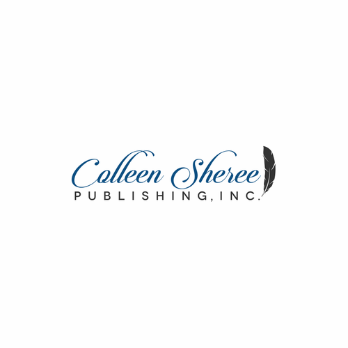 Powerful Logo for Editing and Publishing Company