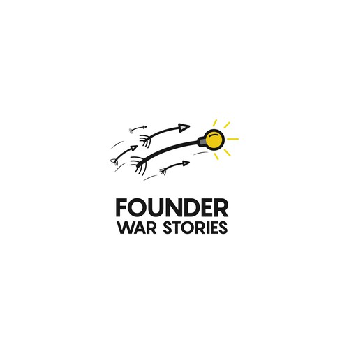 creative logo concept for a startup