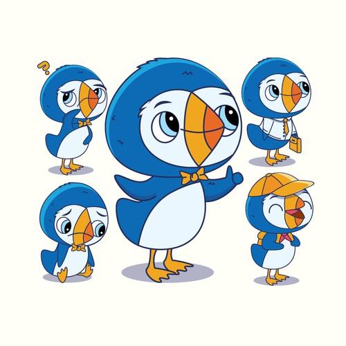 Puffin Mascot