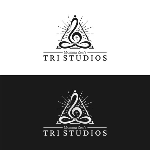 Momma Zen's TRI STUDIO logo