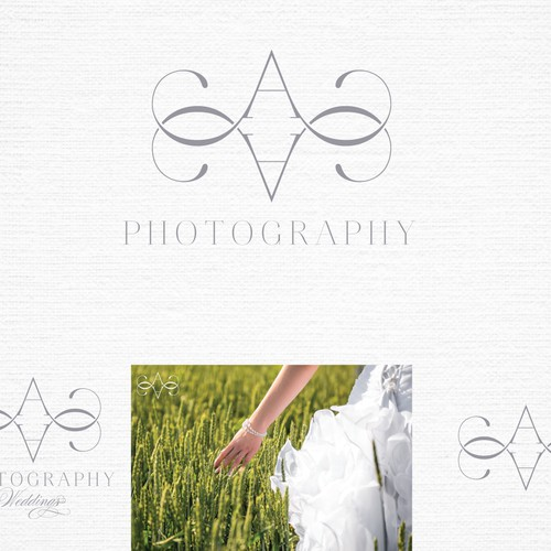 Create a logo for wedding and portrait photography business