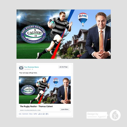 Facebook Ad for The Rugby Realtor - Thomas Calvert