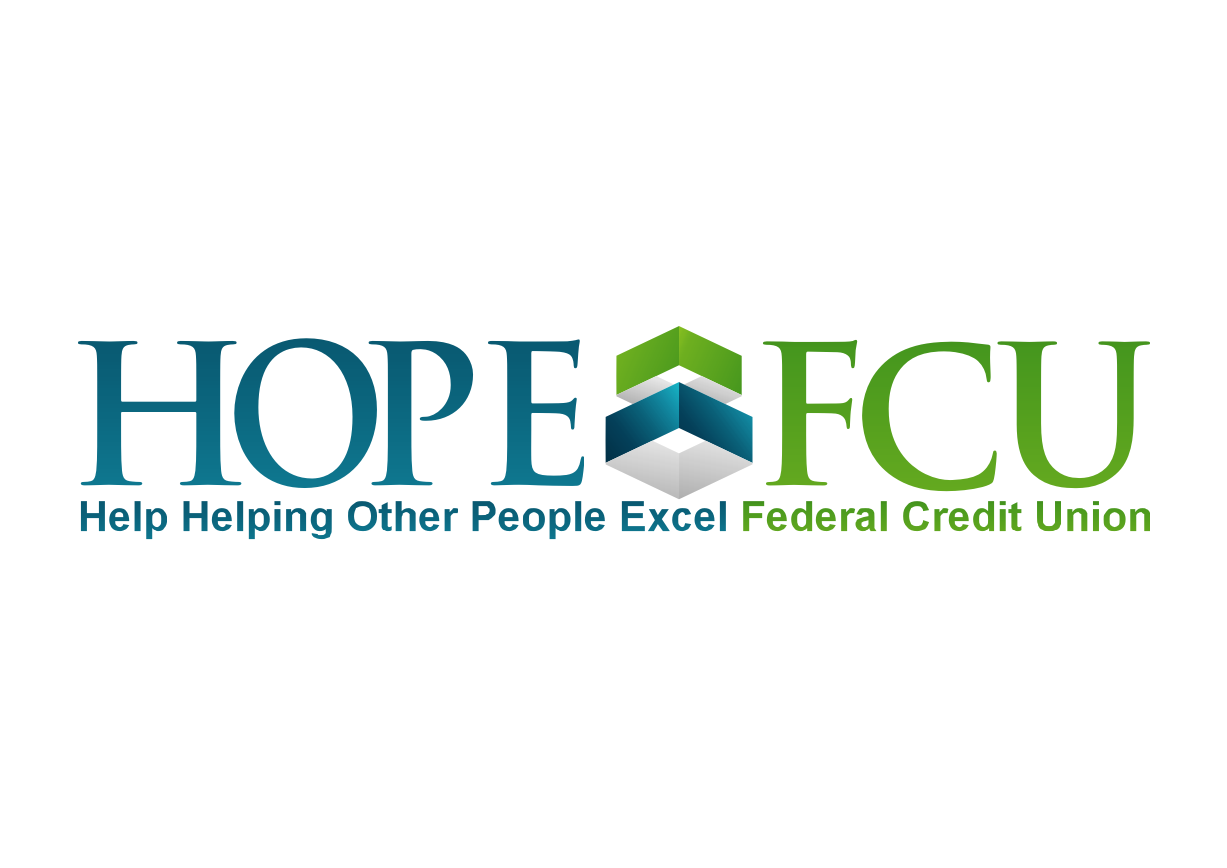 Help Helping Other People Excel Federal Credit Union with a new logo