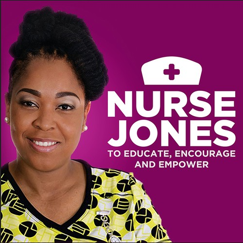 Nurse Jones Podcast Cover Art Concept