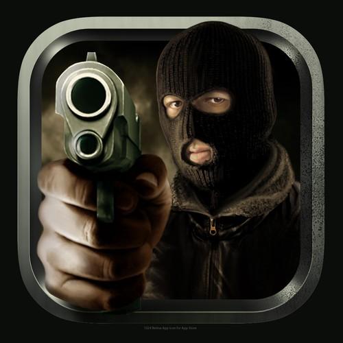 App icon for a mafia style game