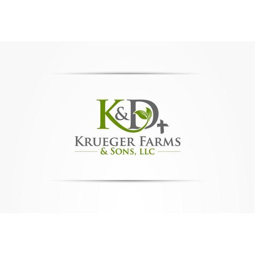 Help K & D Krueger Farms & Sons, LLC with a new logo