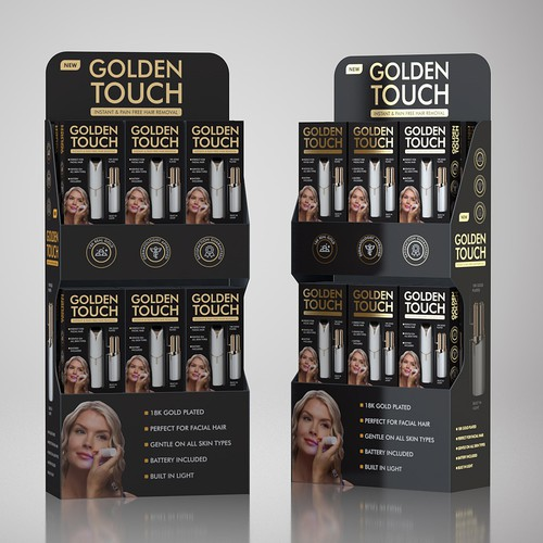 Packaging and POS display design