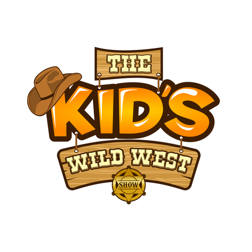 the Kid's WILD WEST Show Logo