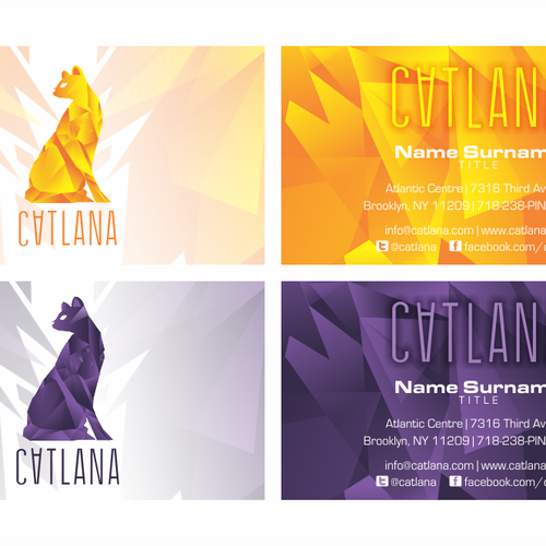 Catlana - Business Cards