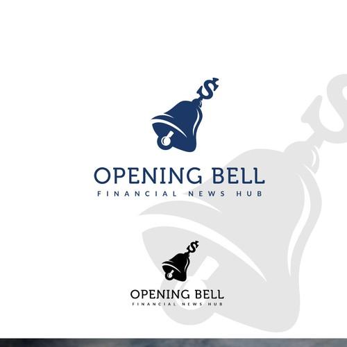 """Logo design for """"Opening Bell"""""""