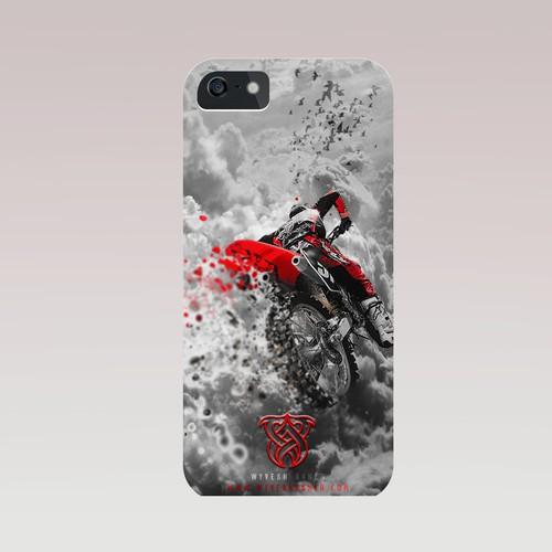 Moto-Cross iPhone 4S Case