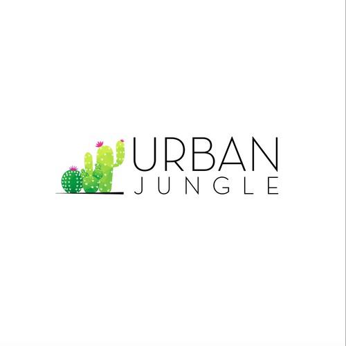 Bright Logo for Urban Jungle