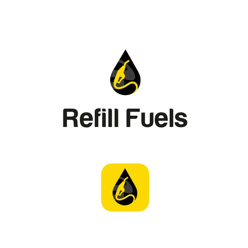 Logo concept for Refill Fuels