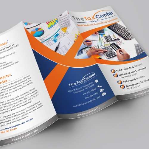 New Client Brochure for The Tax Center LLC