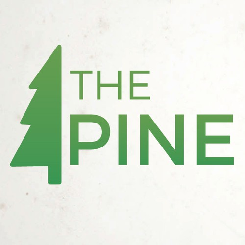 Create a Clean and Fresh  Logo for The Pine Outlet