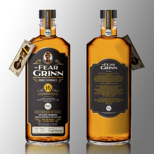 An Fear Grinn Irish Whiskey