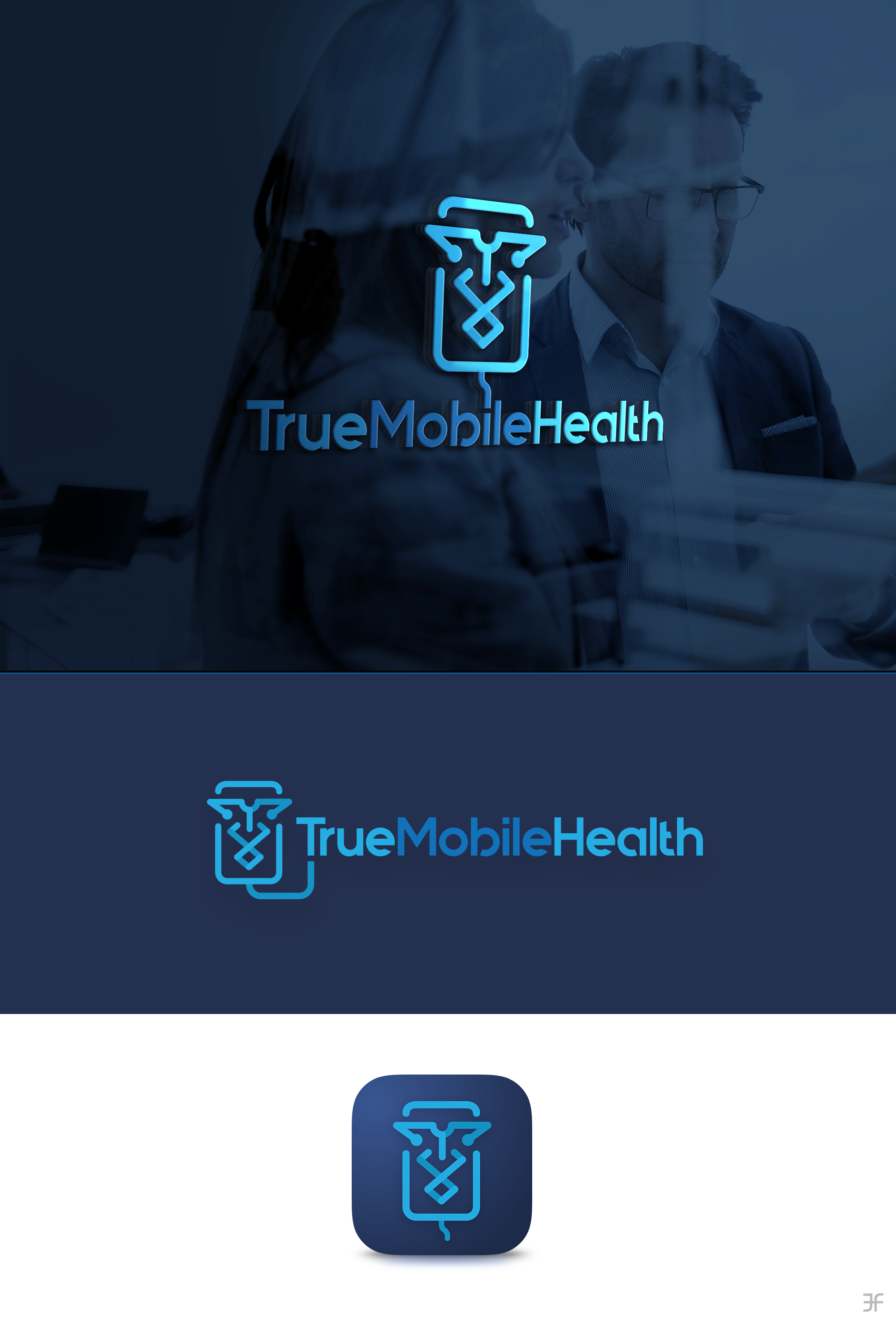 2 app icons and Logo Redesign