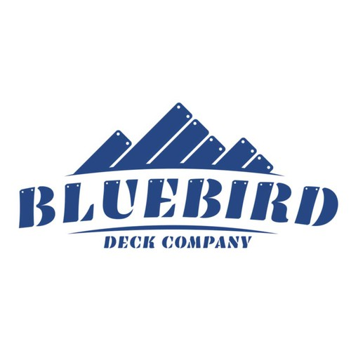 logo for Bluebird Deck Company