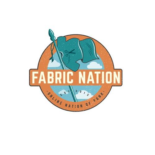Logo design for Fabric Nation