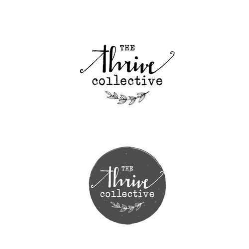 Handmade style logo for Guatemalan women collective