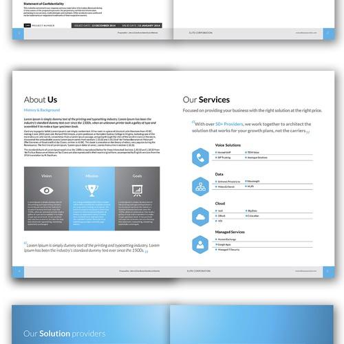 brochure Design - Letter Size