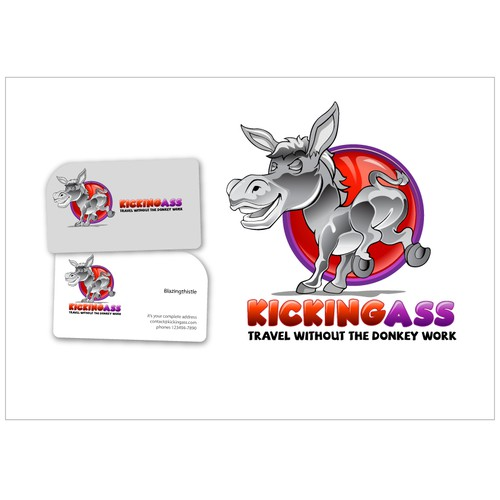 Help Kicking Ass with a new logo and business card