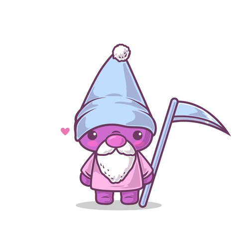 Kawaii Gnome concept