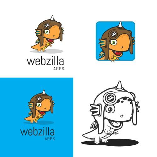 Animal illustration logo for App Company