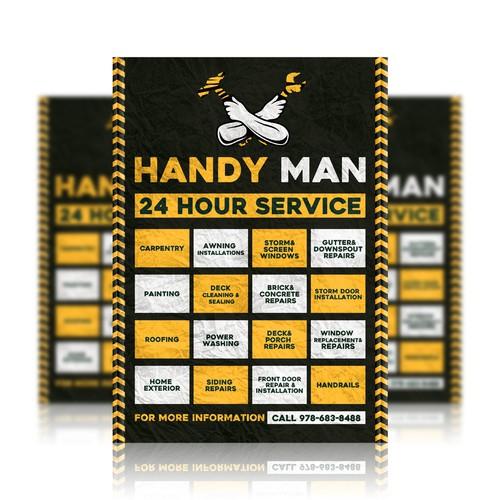 Handyman - Construction Flyer/Poster