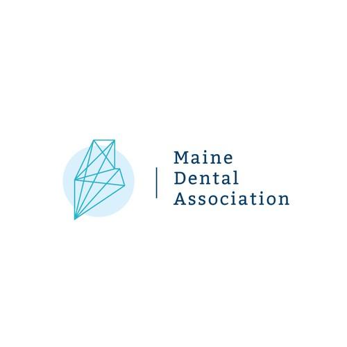 Logo for  Maine Dental Association