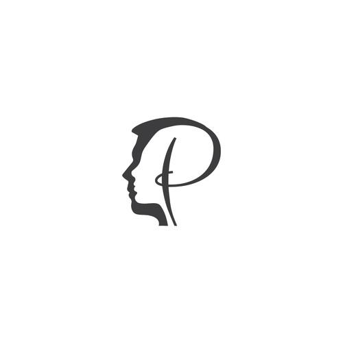 Silhouette logo concept