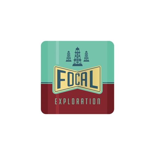 Logo oil exploration
