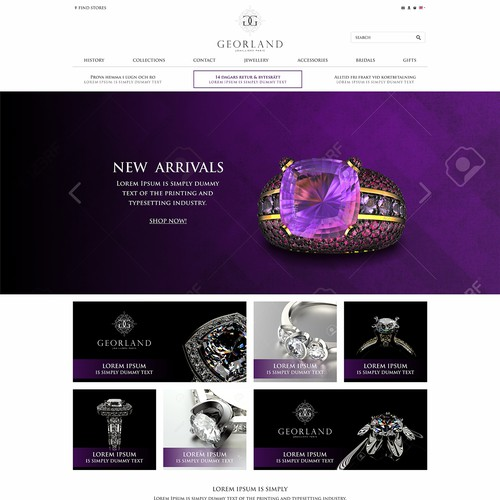 concept for jewellery store