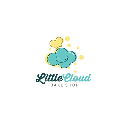Logo concept for littlecloud bake shop