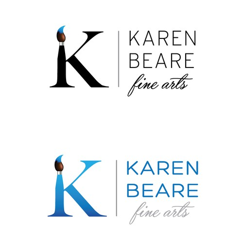 Logo design for Fine Arts Artist