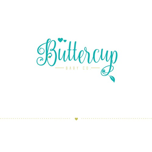 logo concept for buttercup
