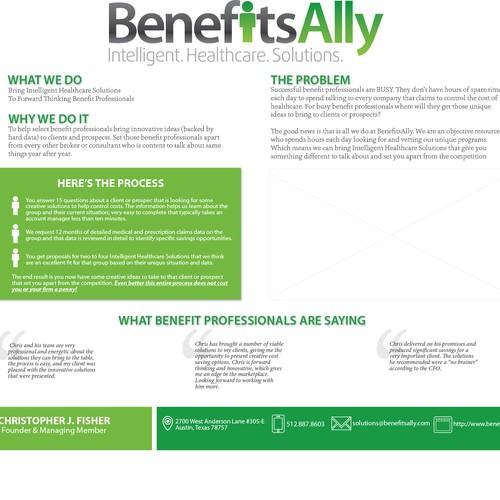 Benefits Ally flyer