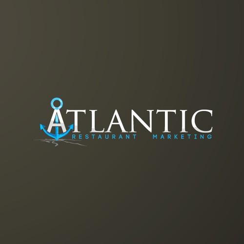 logo design for Atlantic Restaurant Marketing