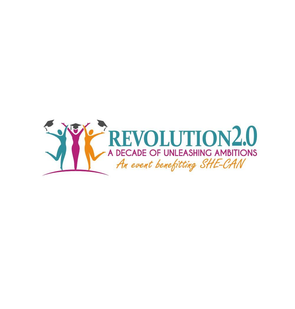 Fun party logo for a global women's empowerment gala