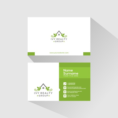 Looking For Unique Stunning Real Estate Logo/Card Design to Use on all of our Promo Material