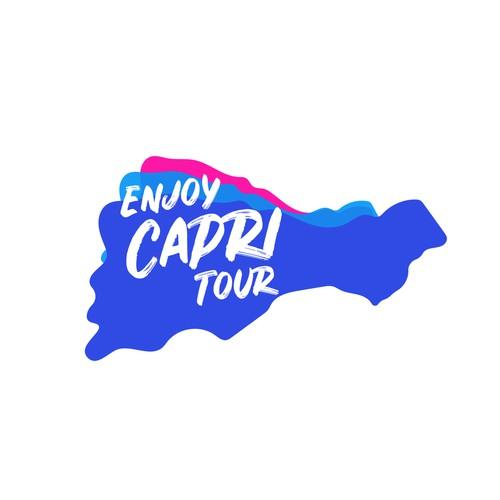 Logo concept for tour-company