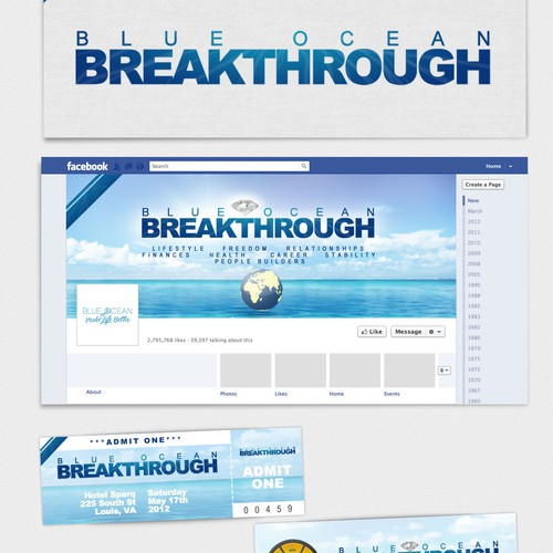 Create the next design for Blue Ocean Breakthrough ~ Make Life Better