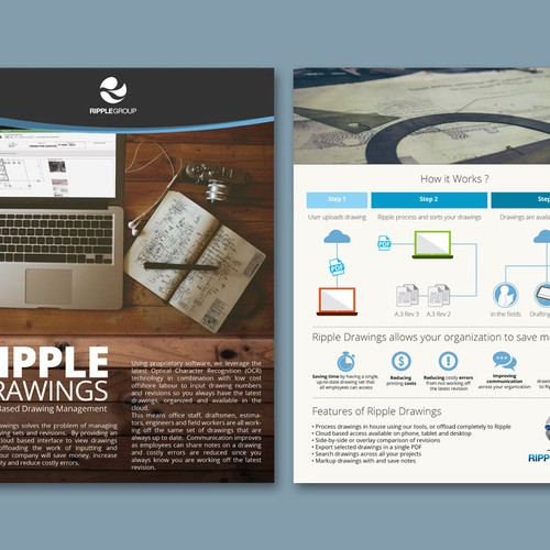 ripple group business flyer