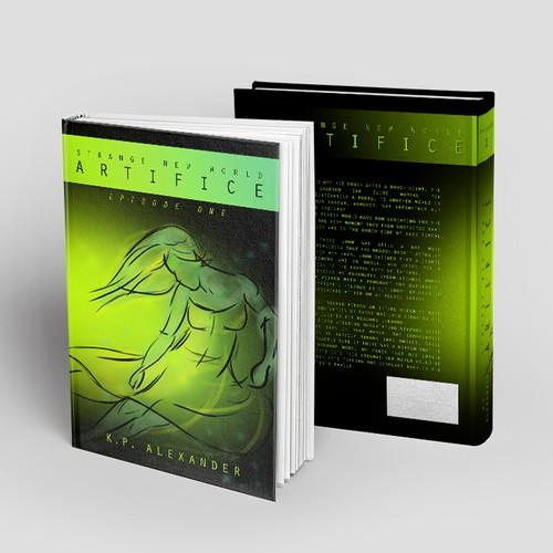 "Book cover for Fantasy Novel ""Artifice: Episode One"""