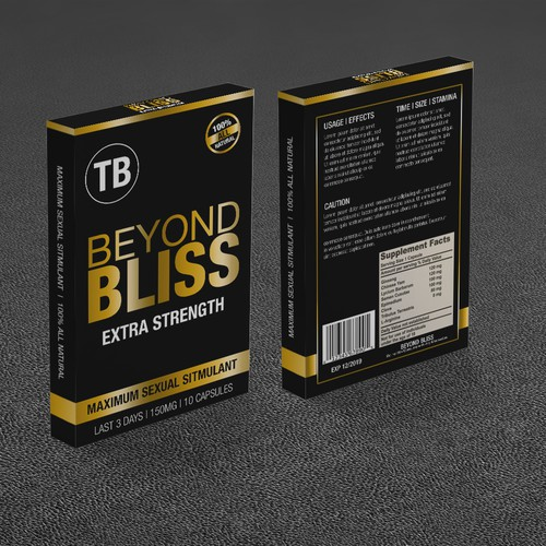 Beyond Bliss Product Packaging