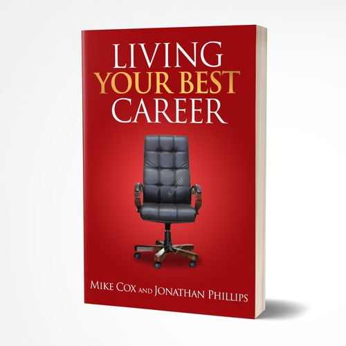 Book cover design for career strategies