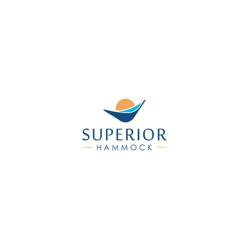 stylish logo for hammock