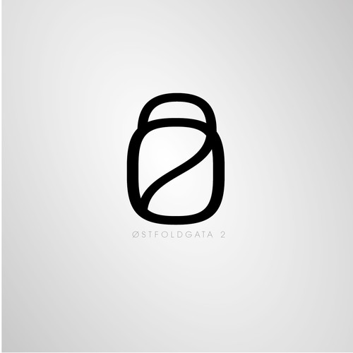 Logo for appartment complex brochure