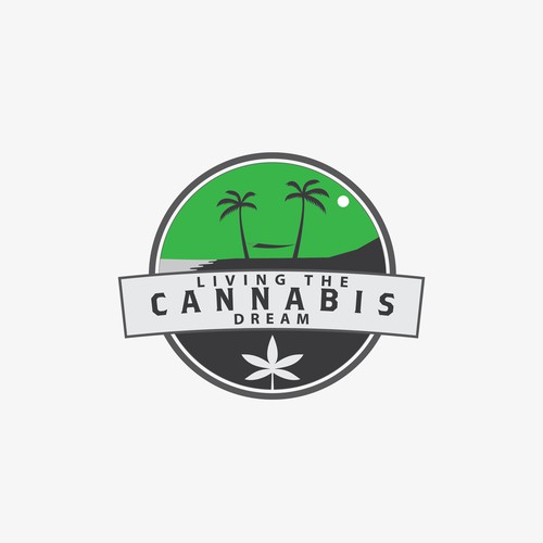 Logo for a cannabis company